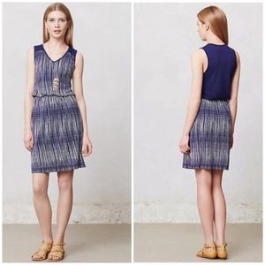 ANTHROPOLOGIE DELETTA JANIE SLEEVELESS PLAID DRESS
